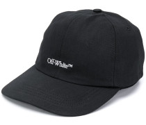 BOOKISH OW BASIC BASEBALL CAP BLACK WHIT