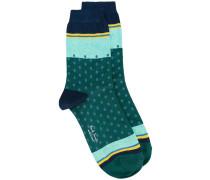 - Gepunktete Socken - women