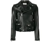 cropped biker jacket