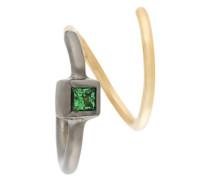 18kt 'Ava Vert' Gelbgold-Ohrring