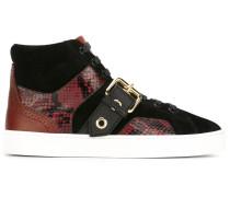 High-Top-Sneakers mit Schnalle - women