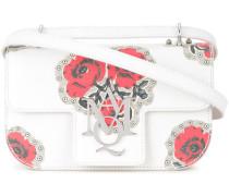 Insignia poppy print crossbody bag
