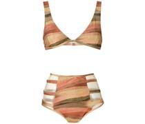 'Marta' Bikini mit hohem Bund