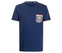 printed-pocket T-shirt