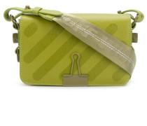 striped Binder Clip bag