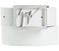 Gürtel mit Logo-Schild