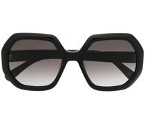 Achteckige Sonnenbrille