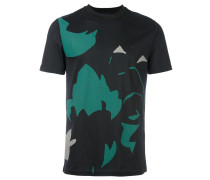 disassembled print T-shirt