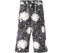 floral print bermuda shorts