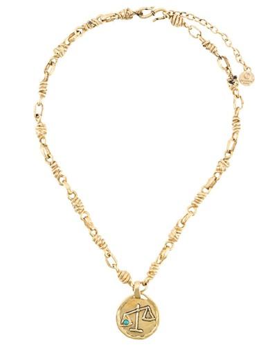 Halskette mit Waage-Anhänger