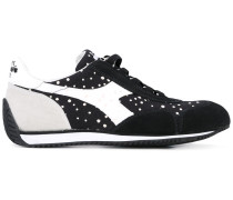 Sneakers mit gepunkteten Einsätzen - women