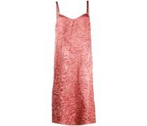 Camisole-Kleid mit Knitteroptik