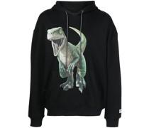 Hoodie mit Dino-Print