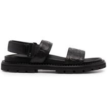 Hype Sandalen mit Gancini-Prägung