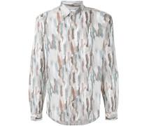 - Hemd mit Camouflage-Print - men - Baumwolle - 43