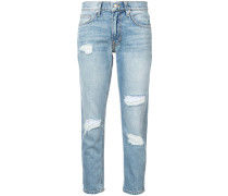 Mila distressed slim-fit jeans