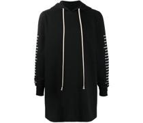 long drawstring hoodie