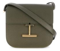 T buckle shoulder bag