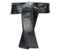 tie-waist belt