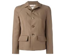 Taillierte Jacke - women - Seide/Polyester - 40