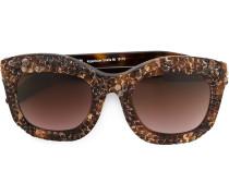 'Mask B2' Sonnenbrille in Schildpattoptik
