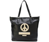 Shopper mit Peace-Patch