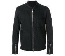 jersey biker jacket