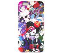 - iPhone 6-Hülle mit Manga-Motiv - men - Silikon