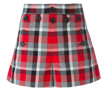 - Karierte 'Sailor' Shorts - women