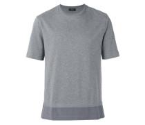 T-Shirt mit Seiden-Saum - men - Seide/Baumwolle
