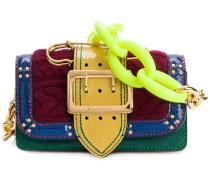 patchwork buckle bag