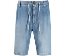Jeans-Shorts mit geradem Bein