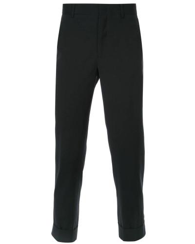 Cropped-Hose mit Taschen