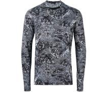Langarmshirt mit Astro-Print