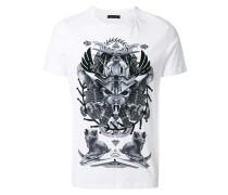 space Egypt print T-shirt