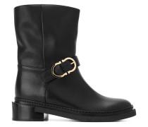Stiefel mit Schnalle - women - Leder/rubber - 7
