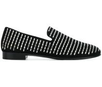 Loafer mit Swarovski-Kristallen