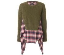 tartan shirt jumper