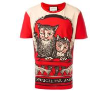Monkeys print T-shirt
