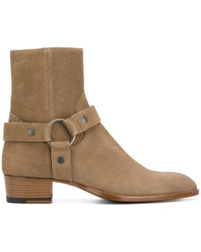 Freies Verschiffen Amazon Sast Verkauf Online Saint Laurent Herren 'Classic Wyatt' Harness-Stiefel 2uUVs
