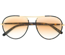 thin framed round sunglasses