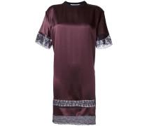 lace insert T-shirt dress