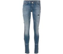 Skinny-Jeans in Distressed-Optik