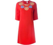 Kleid mit Stickereien - women