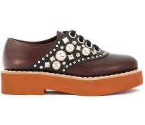 Verzierte Oxford-Schuhe