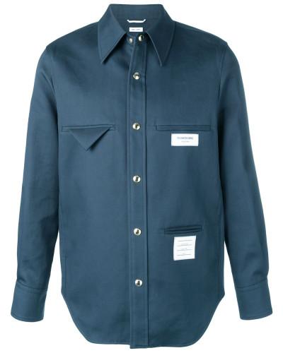 Klassische Hemdjacke