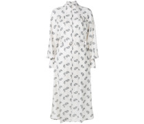 paisley stamp Whitewave polo dress