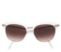 round cat eye frame sunglasses