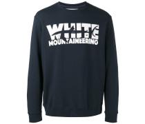 Sweatshirt mit Hai-Print