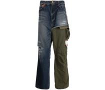 Jeans mit Kontrastdetail